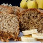 Bolo de Banana Fit (sem trigo, açúcar e leite)
