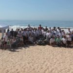 Realizada ação de limpeza na Praia do Pecado