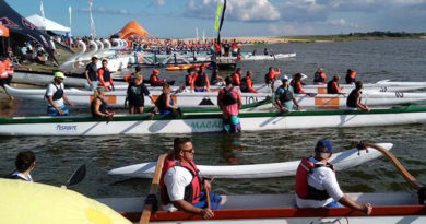 Circuito de Canoa Havaiana começa neste sábado na Lagoa de Imboassica em Macaé