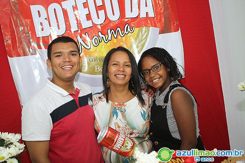Norma 45 anos  – Festa de aniversário –  Restaurante Sr. Nelson & Tia Vera – Macaé-RJ