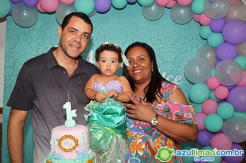 Maria Alice 1 ano – Festa de Aniversário – CEPE Campestre – Macaé-RJ