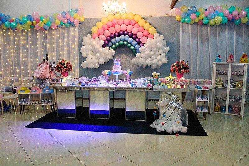 Spaço & Festa – Decoração infantil – Chuva de Benção – Macaé-RJ