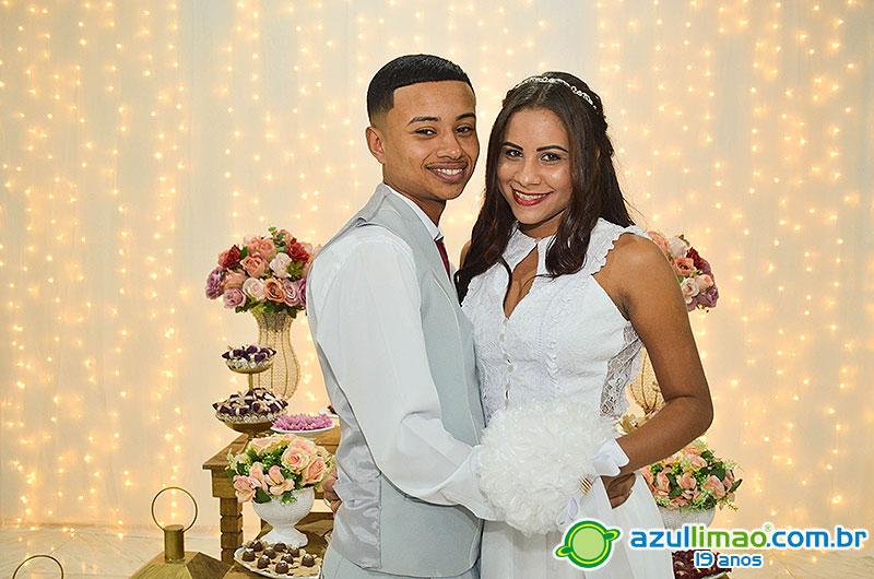 Victória e Matheus – Casamento e Festa – Igreja Pent. Minist. Parque Aeroporto – Macaé-RJ