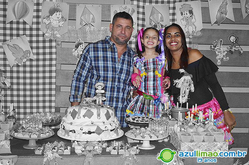 Maria Clara 7 anos – Festa de aniversário – Creche Escola Brincando e Aprendendo – CEBA – Macaé-RJ