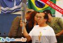RETROSPECTIVA  2007 – Passagem da Tocha dos Jogos Pan-Americanos de 2007 – Pan Rio 2007 – 11 de nov – Macaé-RJ