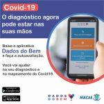 Covid-19: parceria com Instituto D'Or libera aplicativo para autoavaliação em Macaé